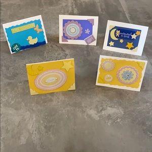 5 for $19.95 Baby Girl Card Bundle 💕